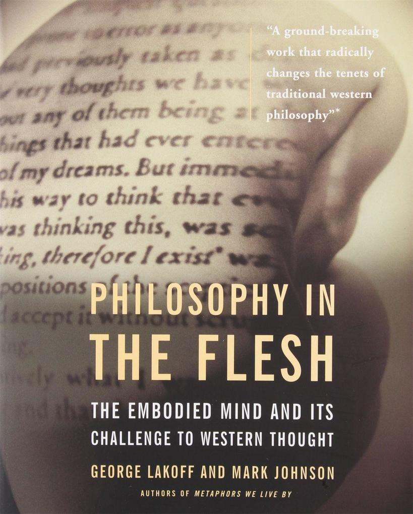 Philosophy In The Flesh als Taschenbuch