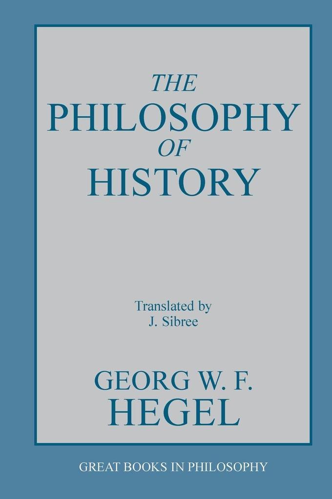 Philosophy of History als Taschenbuch