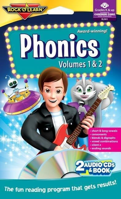 Phonics Vol I & II [2 CDs with Book] [With Book] als Hörbuch