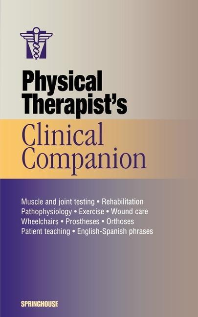 Physical Therapist's Clinical Companion als Taschenbuch