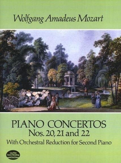 Piano Concertos Nos. 20, 21 and 22: With Orchestral Reduction for Second Piano als Taschenbuch