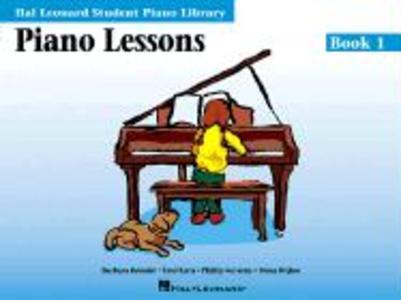 Piano Lessons - Book 1: Hal Leonard Student Piano Library als Taschenbuch