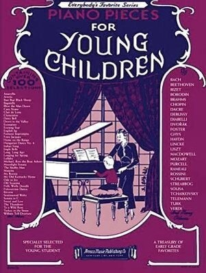 Piano Pieces For Young Children als Taschenbuch
