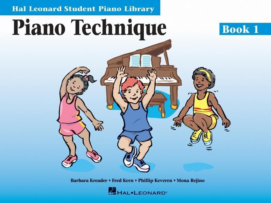 Piano Technique Book 1: Hal Leonard Student Piano Library als Taschenbuch