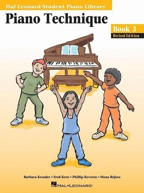 Piano Technique Book 3: Hal Leonard Student Piano Library als Taschenbuch