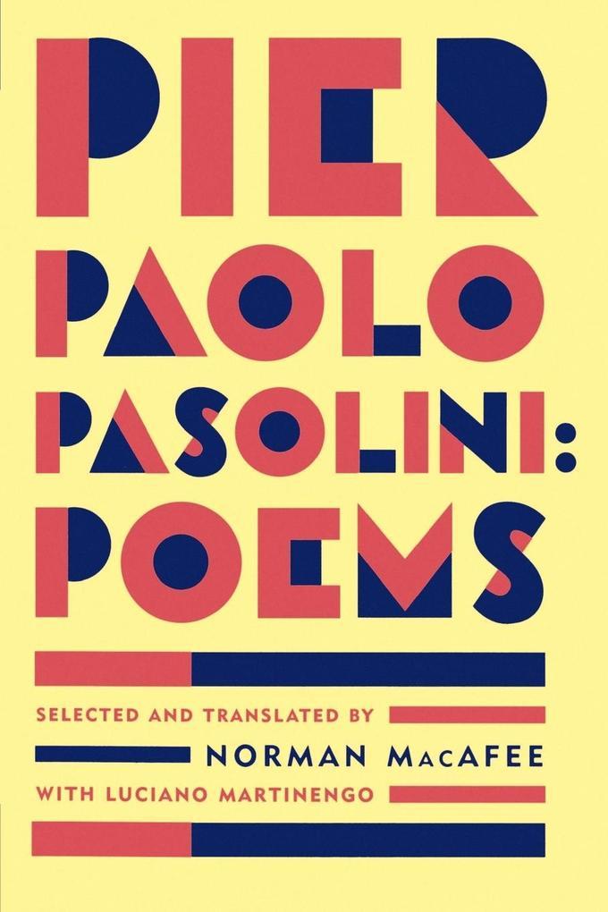Pier Paolo Pasolini Poems als Taschenbuch