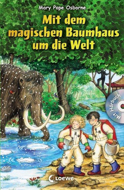 Mit dem magischen Baumhaus um die Welt als Buch