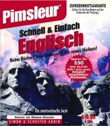Pimsleur English for German Speakers Quick & Simple Course - Level 1 Lessons 1-8 CD: Learn to Speak and Understand English for German with Pimsleur La als Hörbuch