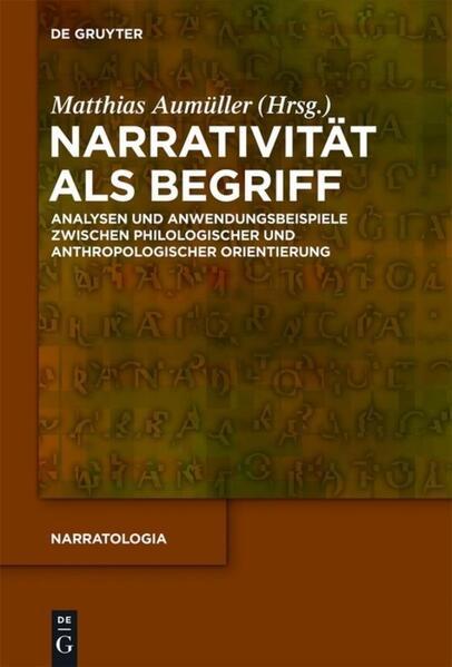 Narrativität als Begriff als Buch