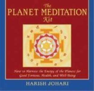 The Planet Meditation Kit: How to Harness the Energy of the Planets for Good Fortune, Health, and Well-Being [With Guide and Contains 9 Full Color Yan als Taschenbuch