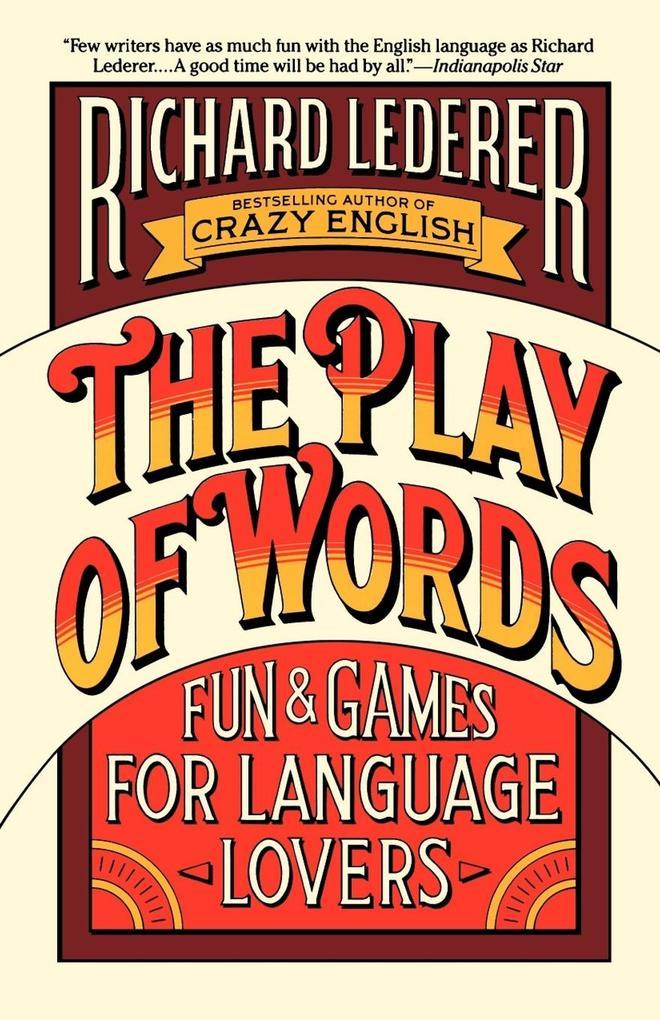 The Play of Words als Taschenbuch