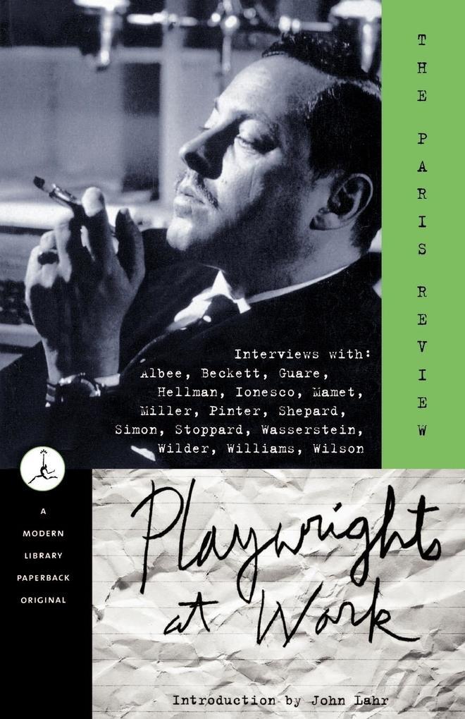 Playwrights at Work als Taschenbuch