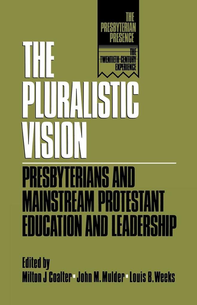 Pluralistic Vision als Taschenbuch