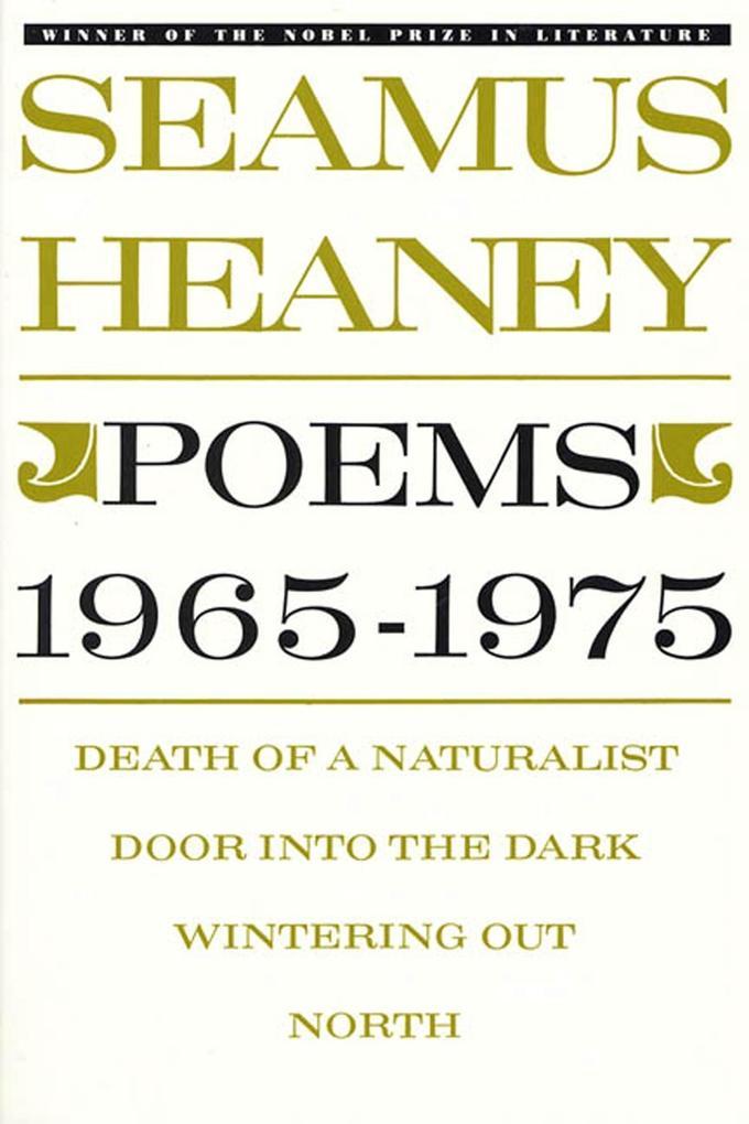 Poems, 1965-1975 als Taschenbuch