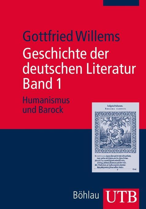 Geschichte der deutschen Literatur. Band 1 als Buch