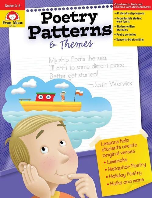 Poetry Patterns & Themes: Grades 3-6+ als Taschenbuch