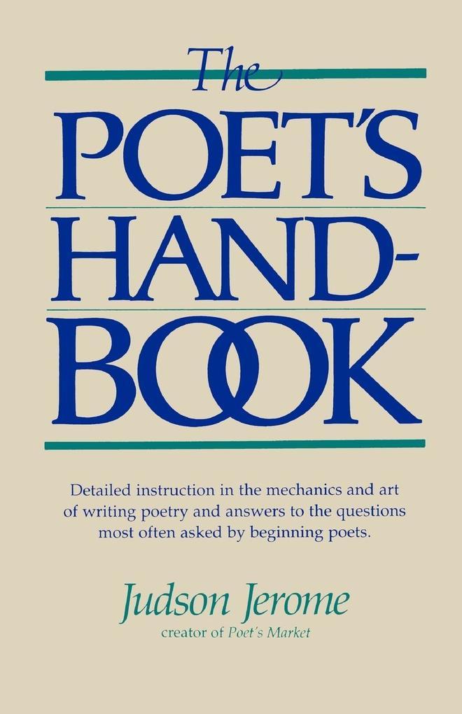The Poet's Handbook als Taschenbuch