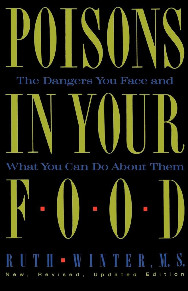 Poisons in Your Food als Taschenbuch