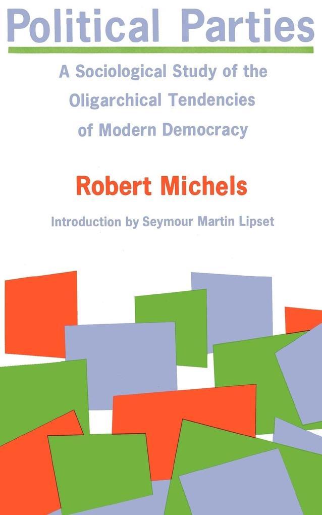 Political Parties als Buch