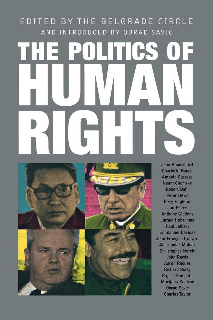 The Politics of Human Rights als Buch