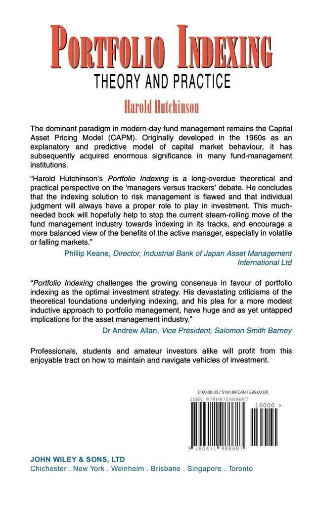 Portfolio Indexing als Buch