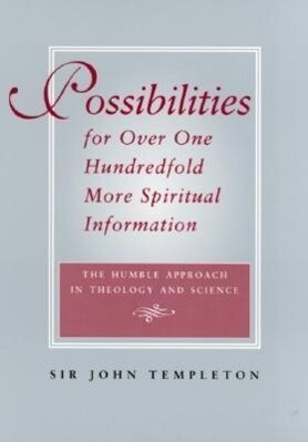 Possibilities for Over One Hundredfold More Spiritual Information als Taschenbuch