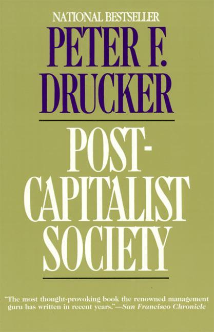 Post-Capitalist Society als Taschenbuch