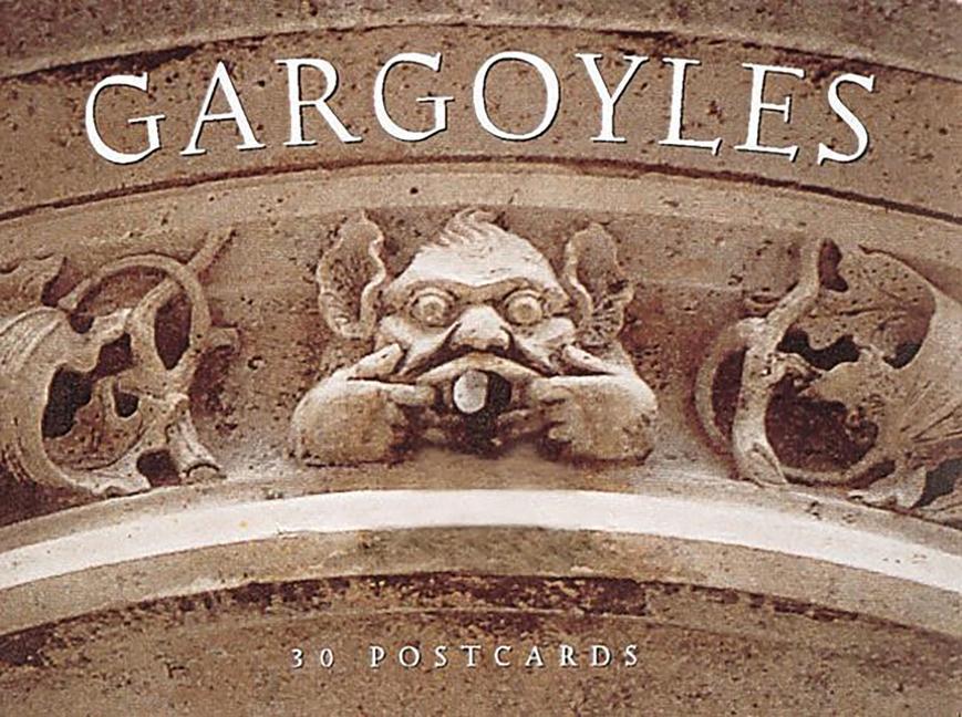 Gargoyles: 30 Postcards als Buch