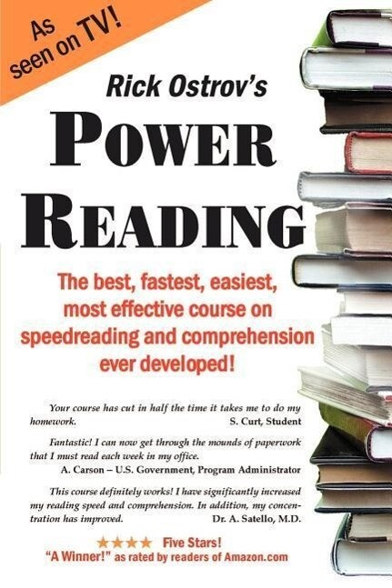 Power Reading: The Best, Fastest, Easiest, Most Effective Course on Speedreading and Comprehension Ever Developed als Taschenbuch