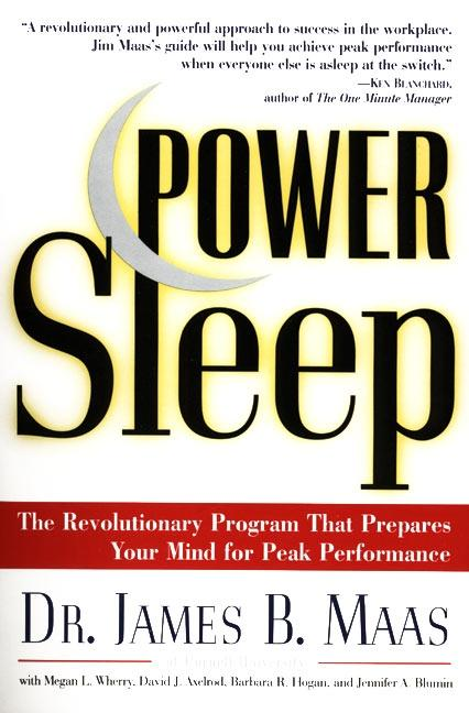 Power Sleep: The Revolutionary Program That Prepares Your Mind for Peak Performance als Taschenbuch