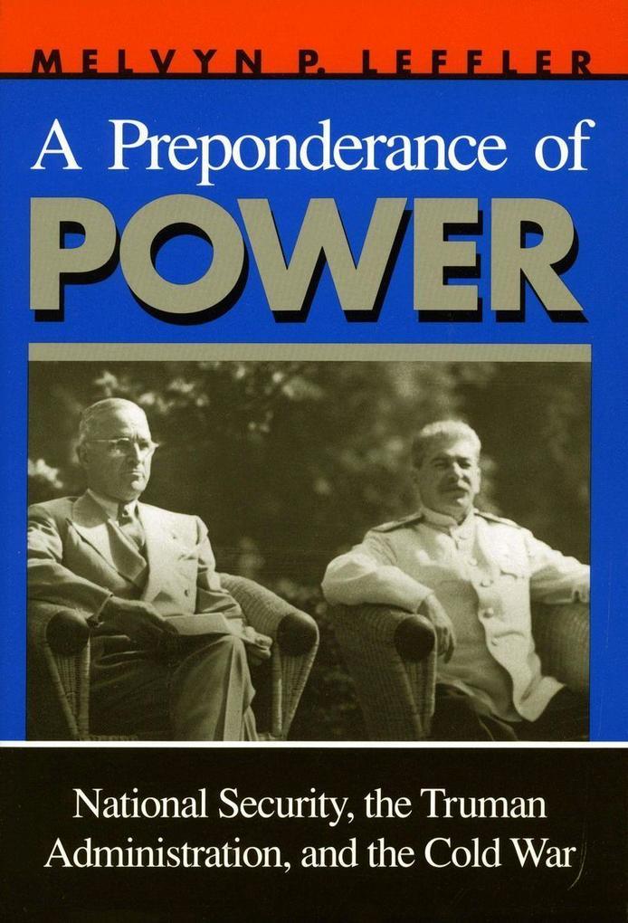 A Preponderance of Power als Taschenbuch