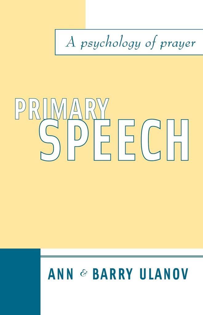 Primary Speech als Taschenbuch