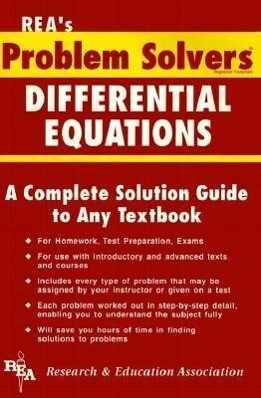 Differential Equations Problem Solver als Buch