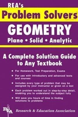 Geometry - Plane, Solid & Analytic Problem Solver als Taschenbuch