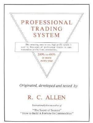 Professional Trading System als Taschenbuch