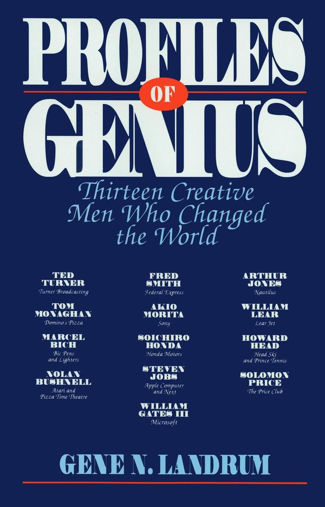 Profiles of Genius als Buch