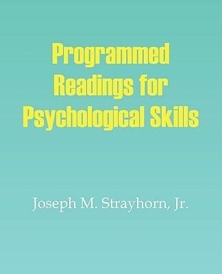 Programmed Readings on Psychological Skills als Taschenbuch