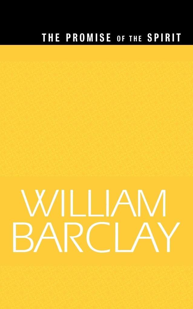 The Promise of the Spirit (WBL) als Taschenbuch
