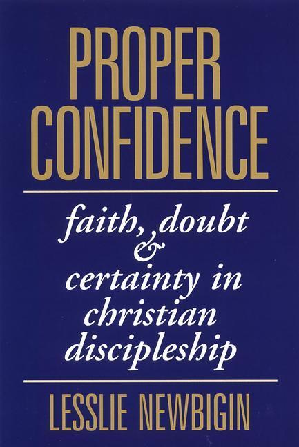 Proper Confidence als Taschenbuch