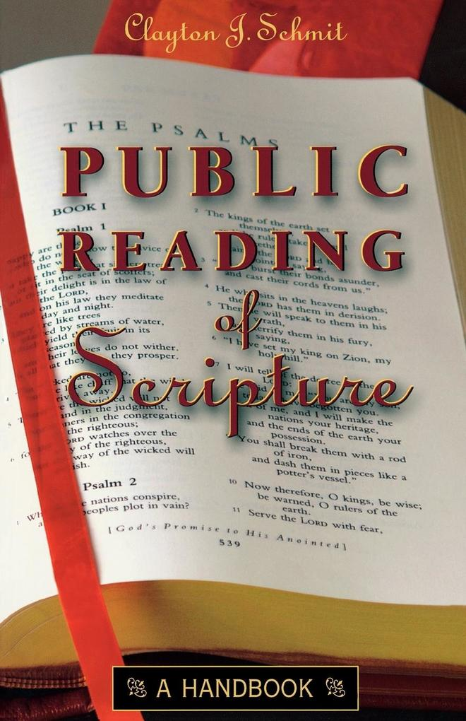 Public Reading of Scripture als Taschenbuch