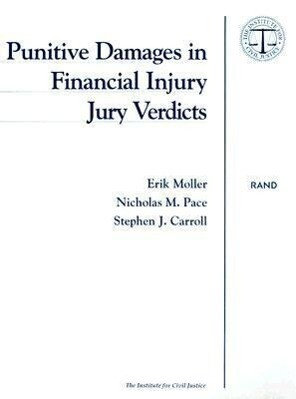 Punitive Damages in Financial Injury Jury Verdicts als Taschenbuch