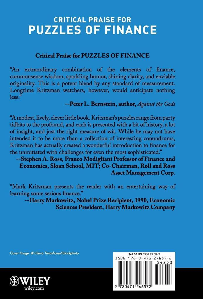Puzzles of Finance C als Buch