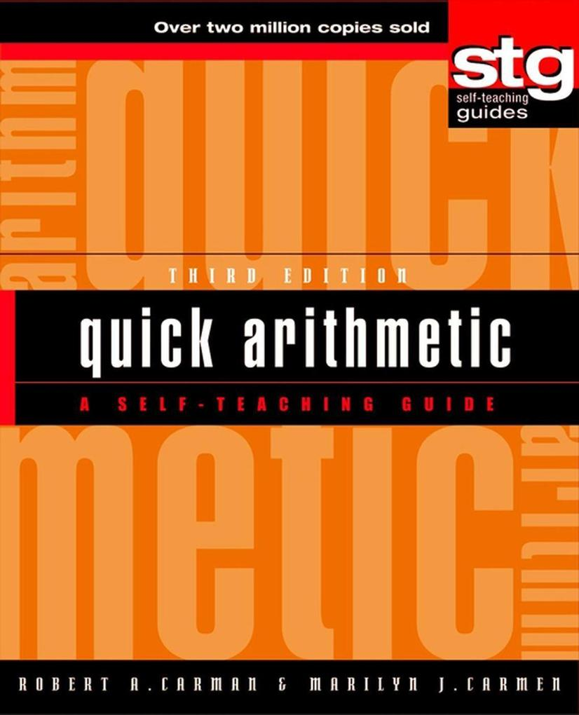 Quick Arithmetic: A Self-Teaching Guide als Buch