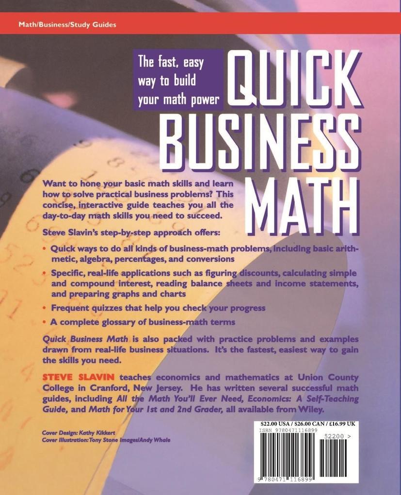Quick Business Math als Taschenbuch