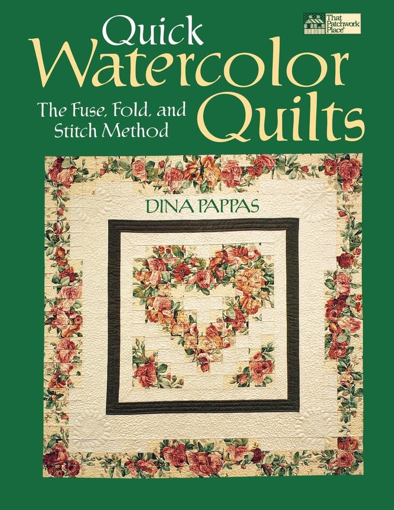 "Quick Watercolor Quilts ""Print on Demand Edition"" als Taschenbuch"