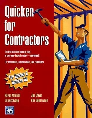 Quicken for Contractors [With Disk] als Taschenbuch