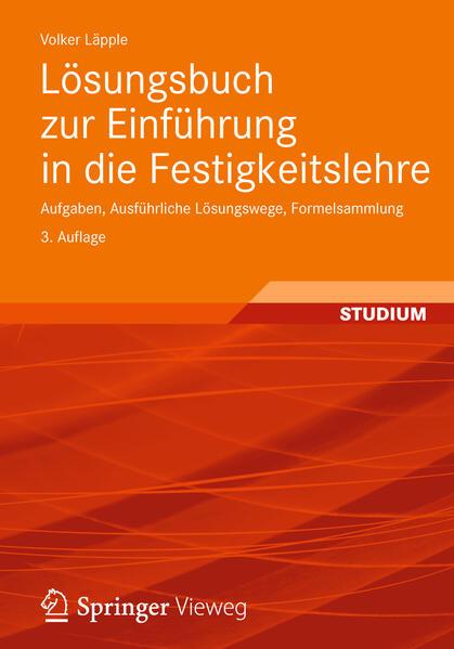 Lösungsbuch zur Einführung in die Festigkeitslehre als Buch