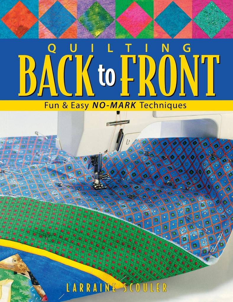 Quilting Back to Front - Print on Demand Edition als Taschenbuch