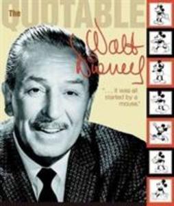 Quotable Walt Disney als Taschenbuch