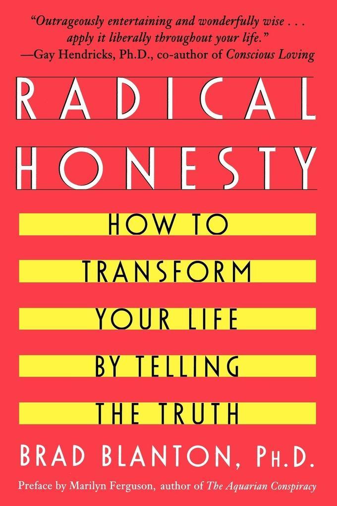 Radical Honesty als Buch